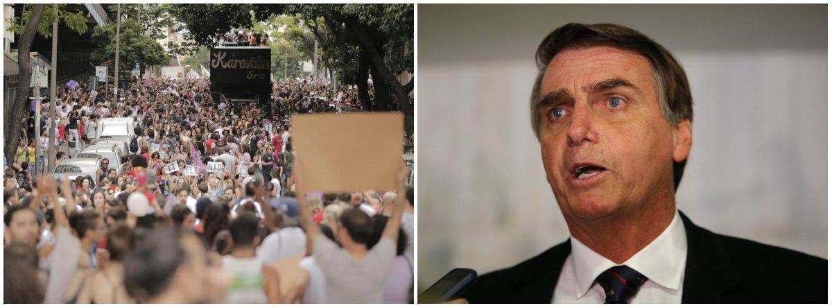 Bolsonaro menciona a palavra mulher apenas uma vez em seu programa de governo