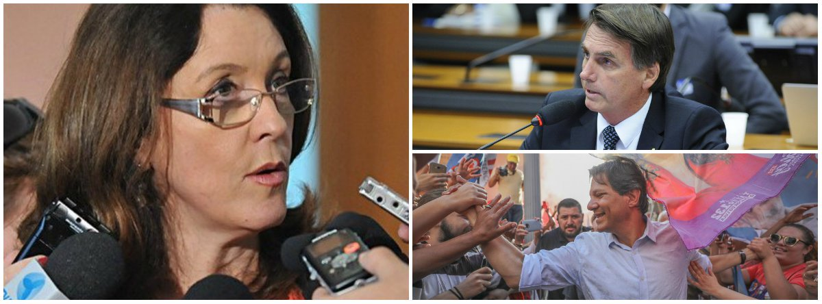 Helena Chagas: segundo turno vai ser uma pauleira