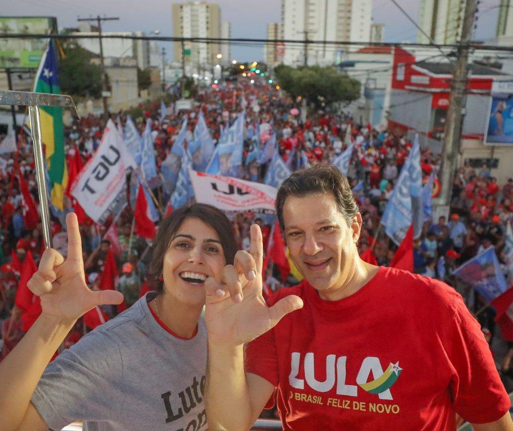 Manuela em debate das vices: Haddad vai unir e pacificar o País