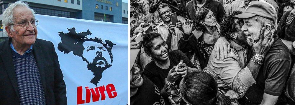 Chomsky: Lula é o mais importante preso político da atualidade