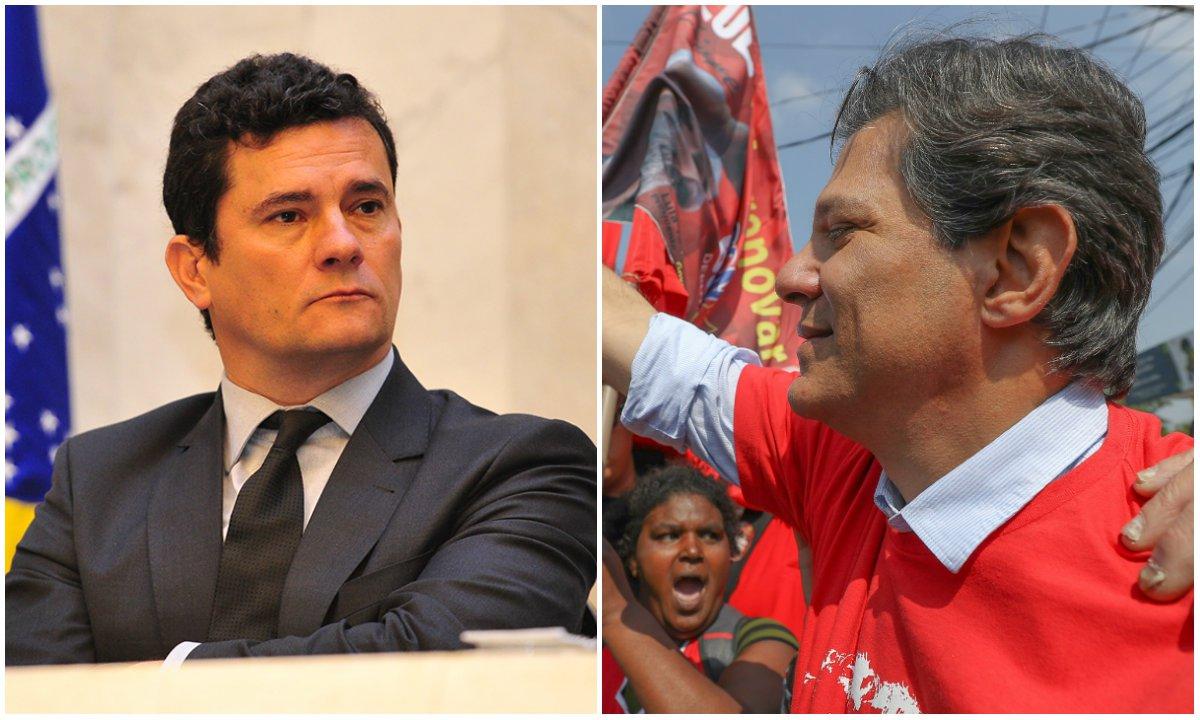 Moro dá contribuição valiosa à vitória de Fernando Haddad
