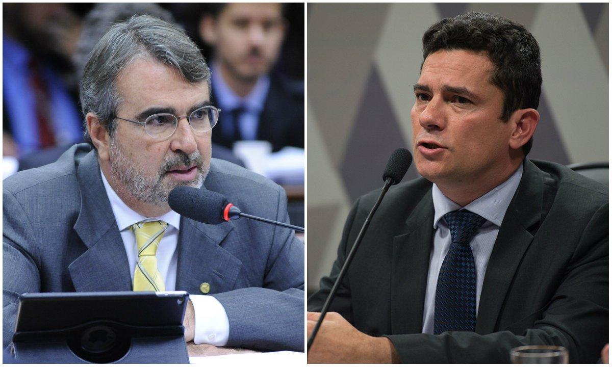 Fontana: Moro atua para beneficiar Bolsonaro