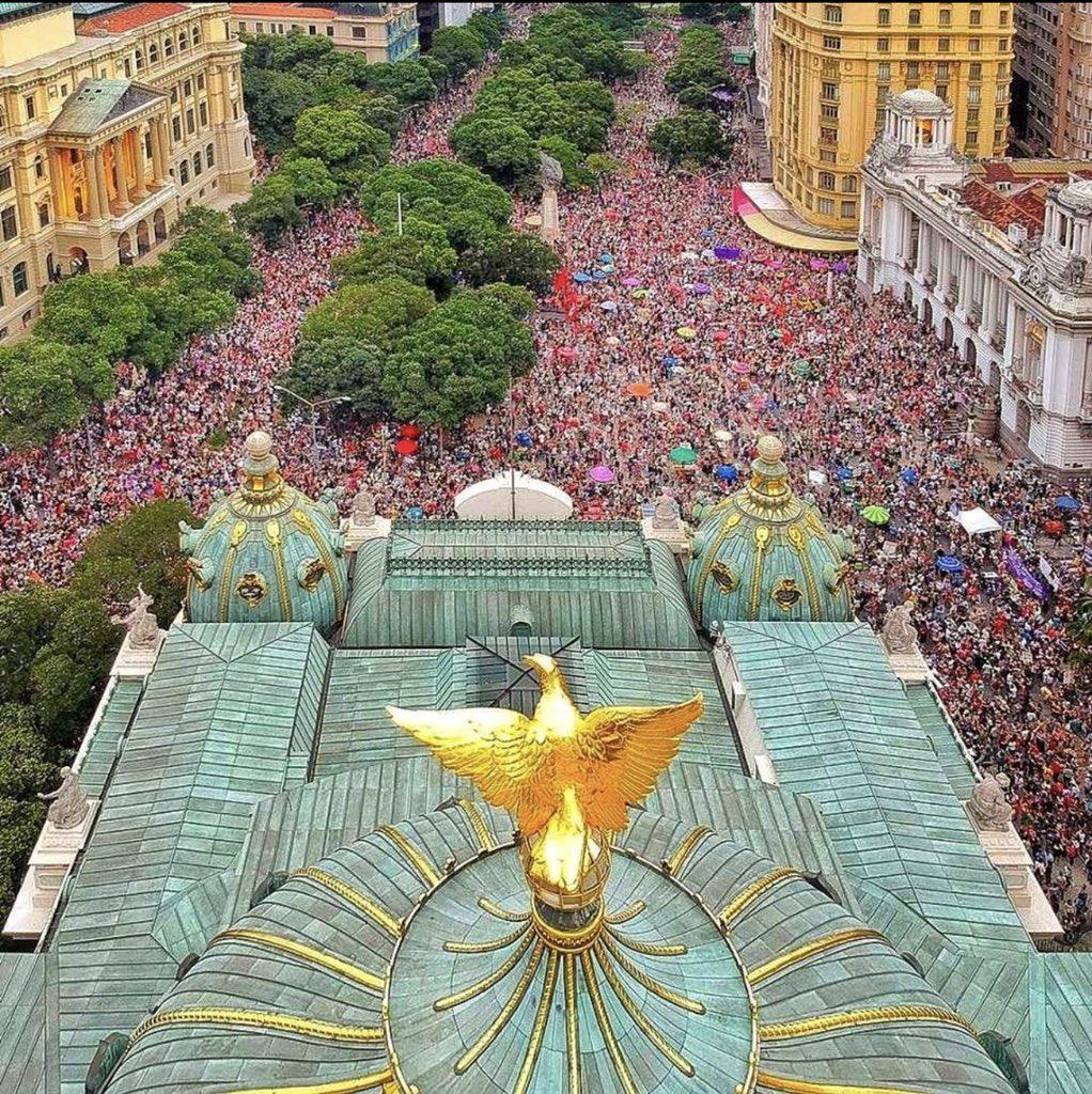 O Brasil diz não ao candidato do fascismo