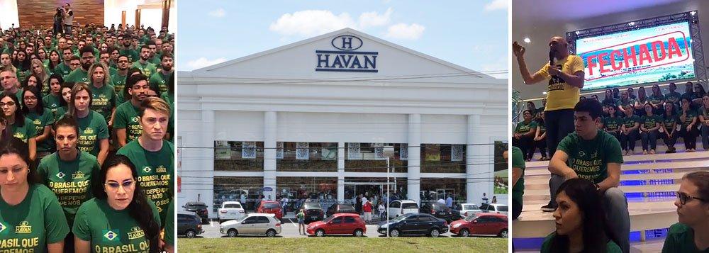 Confira a fala em que dono da Havan coage funcionários em prol de Bolsonaro