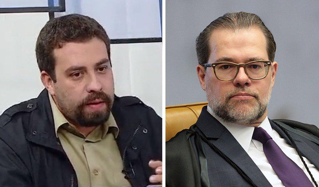 Boulos: democracia pede socorro quando até a suprema corte relativiza uma ditadura