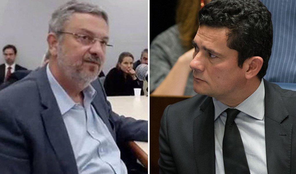 A seis dias da eleição, Moro libera delação de Palocci