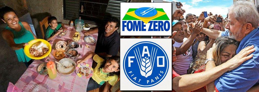 Criação de Lula, Fome Zero vira programa global das Nações Unidas