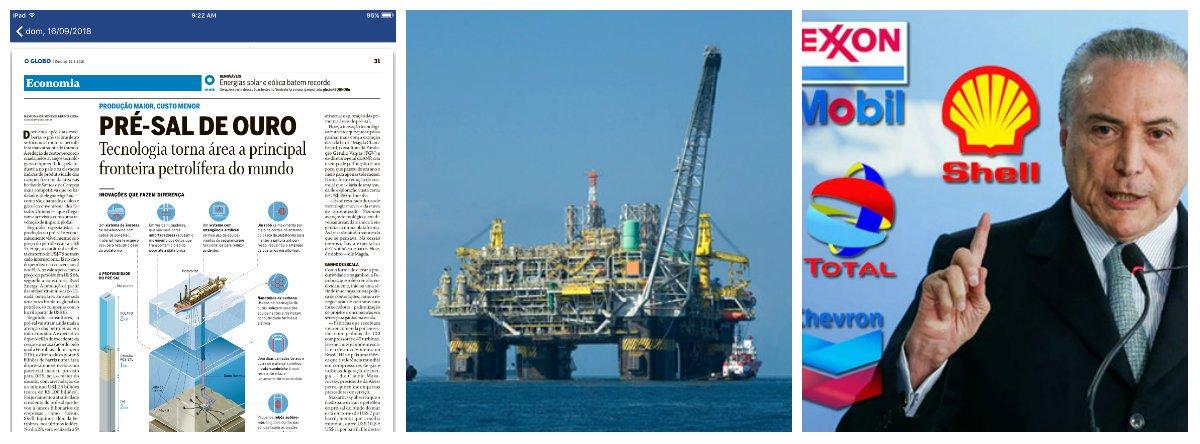 Estatal norueguesa diz que Brasil tem melhores áreas de petróleo no mundo