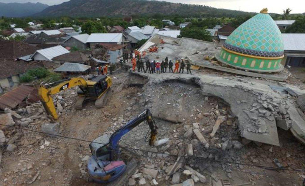 União Europeia destina 1,5 milhão de euro à Indonésia após terremoto