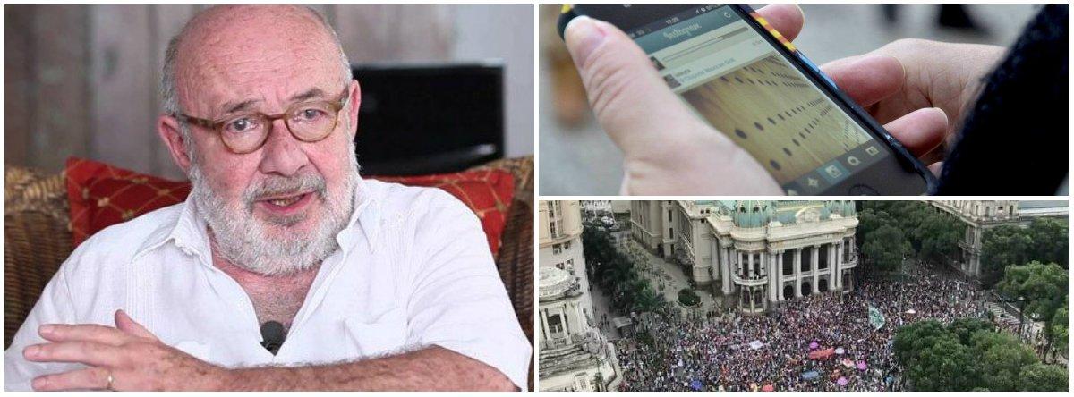Na internet, o povo informa o povo, sem intermediários: a velha mídia perdeu, diz Kotscho
