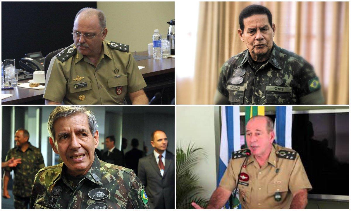 A volta da tutela militar sobre a Nação