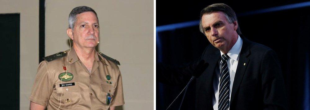 Presidente do Clube Militar, pró-Bolsonaro, quer restrição a direitos e fim das cotas