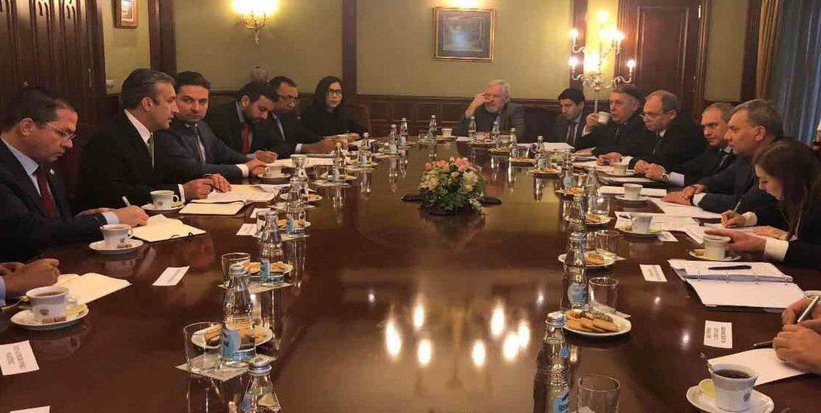Venezuela e Rússia aprofundam cooperação econômica
