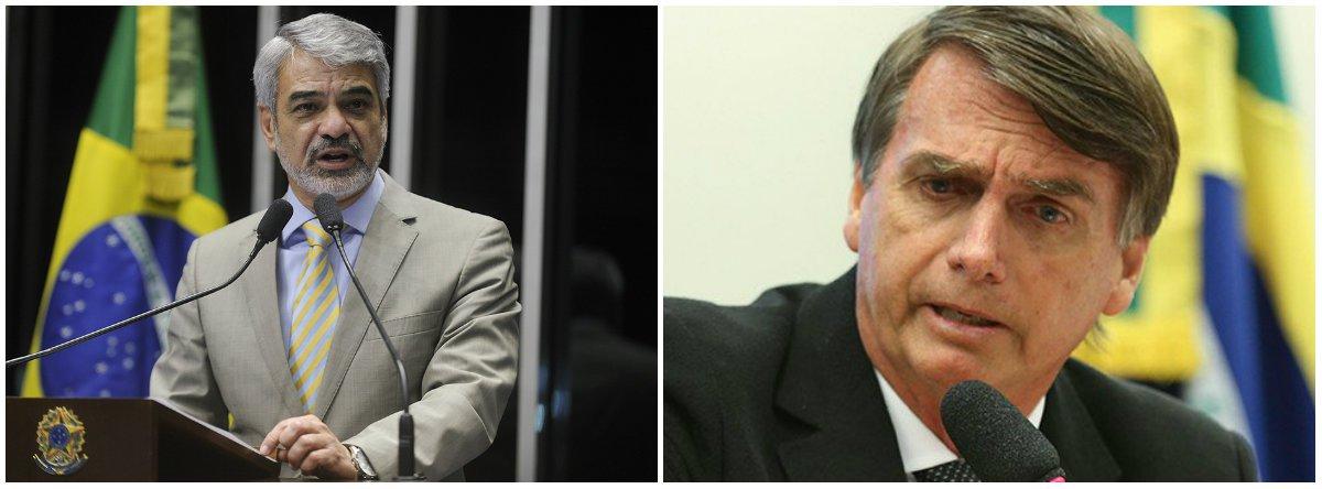 Humberto manda recado a Bolsonaro: mulheres não são fraquejada