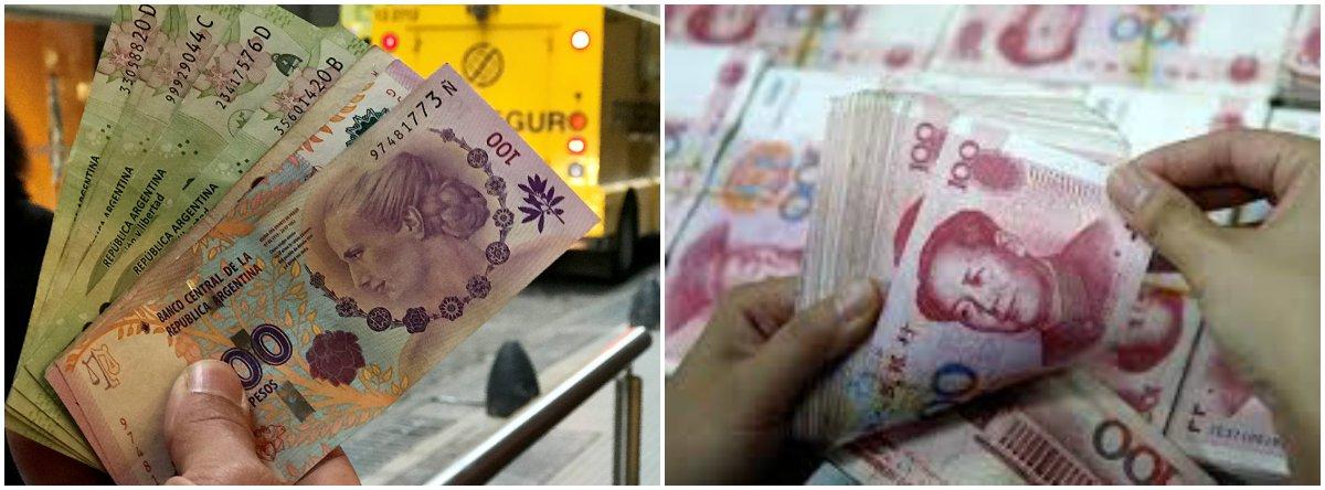 Argentina e China se aproximam de acordo de troca de moedas