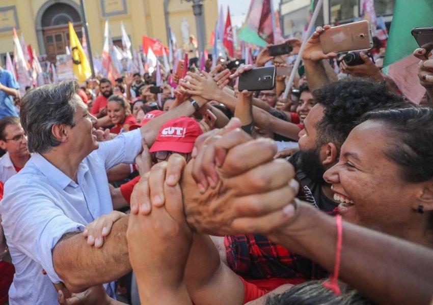 Tomar as ruas e assegurar a vitória de Haddad