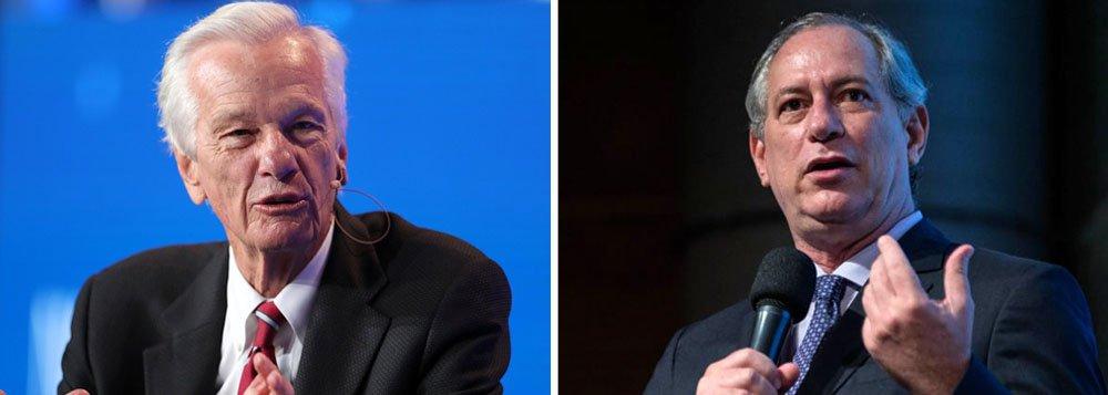 Turma de Lemann tenta frente pró-Ciro, com apoio de Alckmin e Marina