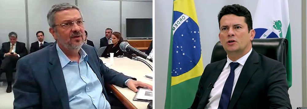 Até Globo acusa Moro de usar Palocci para agir politicamente contra o PT