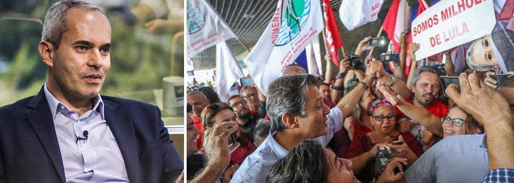 Sergio Vale: pauta econômica poderá eleger Haddad presidente