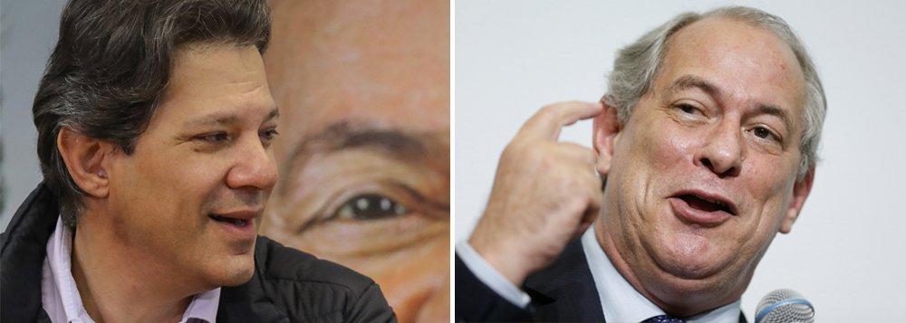 Ciro Gomes diz que prefere enfrentar Haddad no 2º turno
