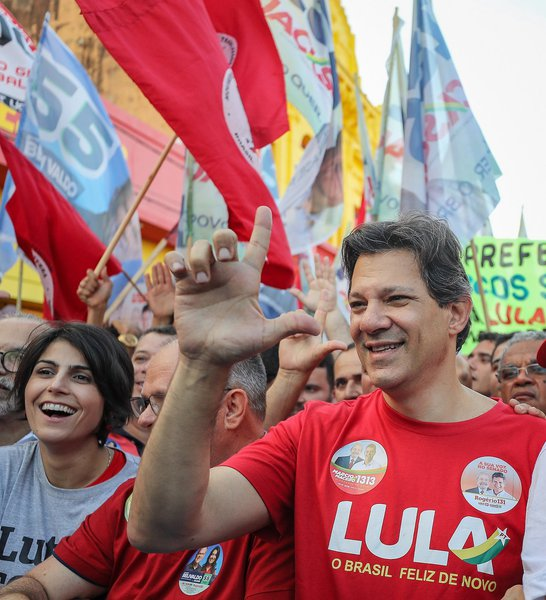 Haddad lidera com folga em Pernambuco, com 32%, diz pesquisa