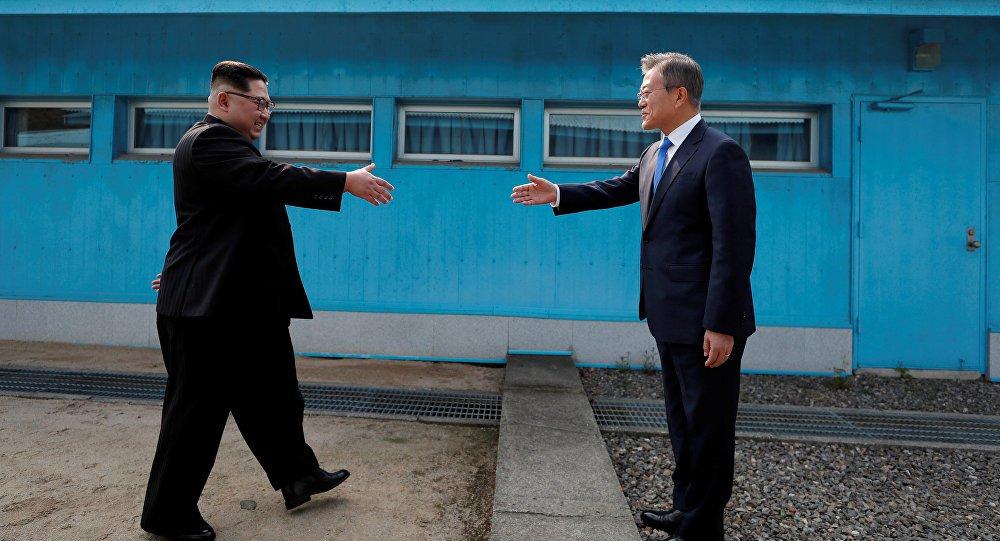 Fim da guerra trará paz e progresso à Península Coreana, afirma Moon