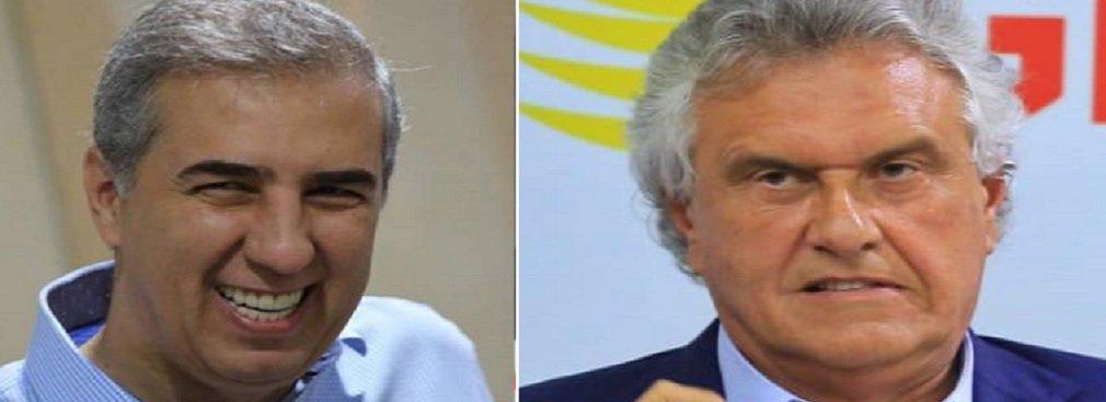 Pesquisa Record TV indica 2º turno entre Zé Eliton e Caiado
