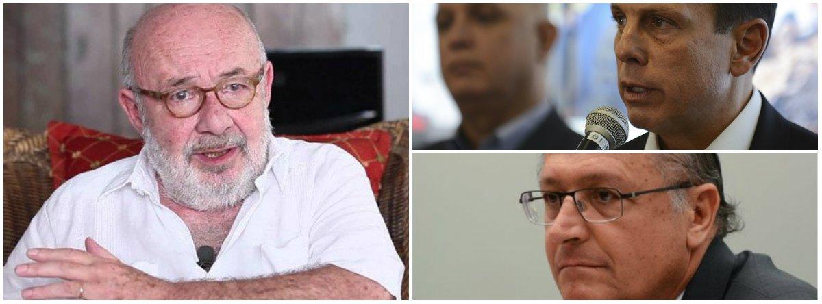 """A dança tucana da tradição: """"Bolsodoria"""" e Alckmin afundam juntos, diz Kotscho"""