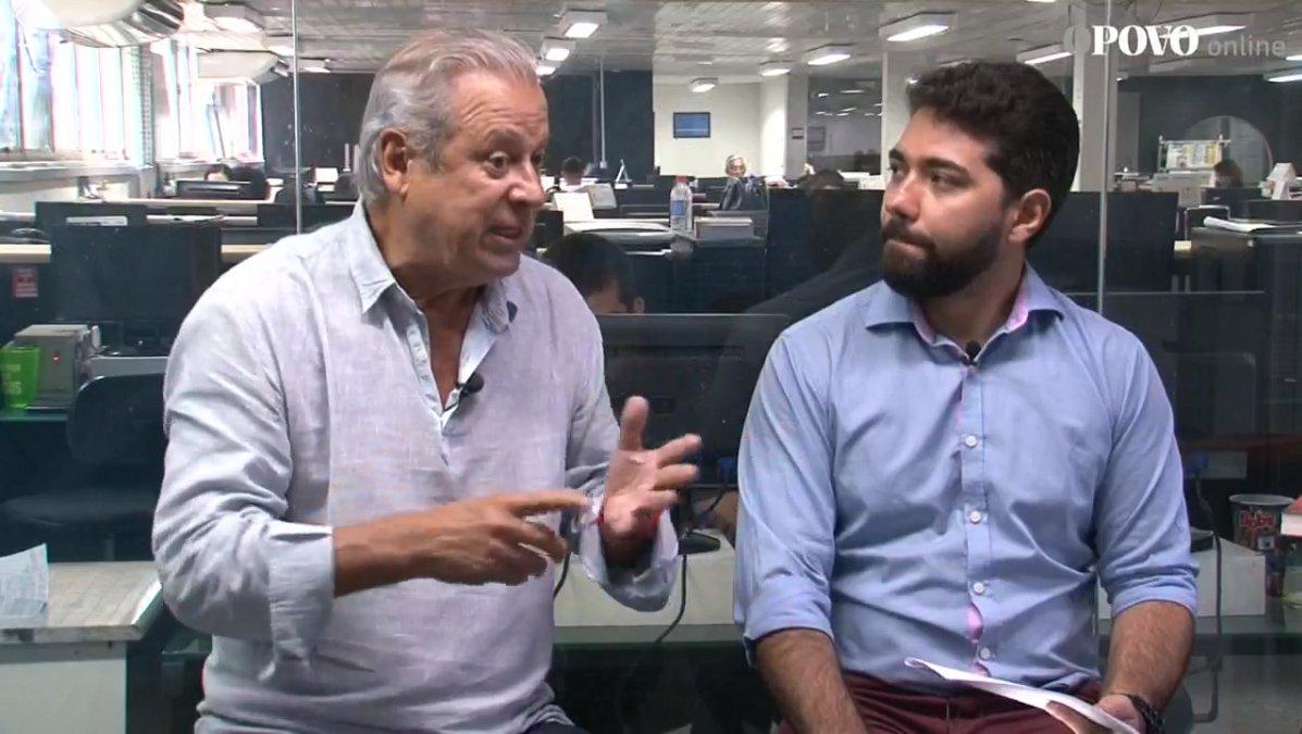 """Dirceu: Crítica de Ciro a Haddad é """"um direito dele"""""""