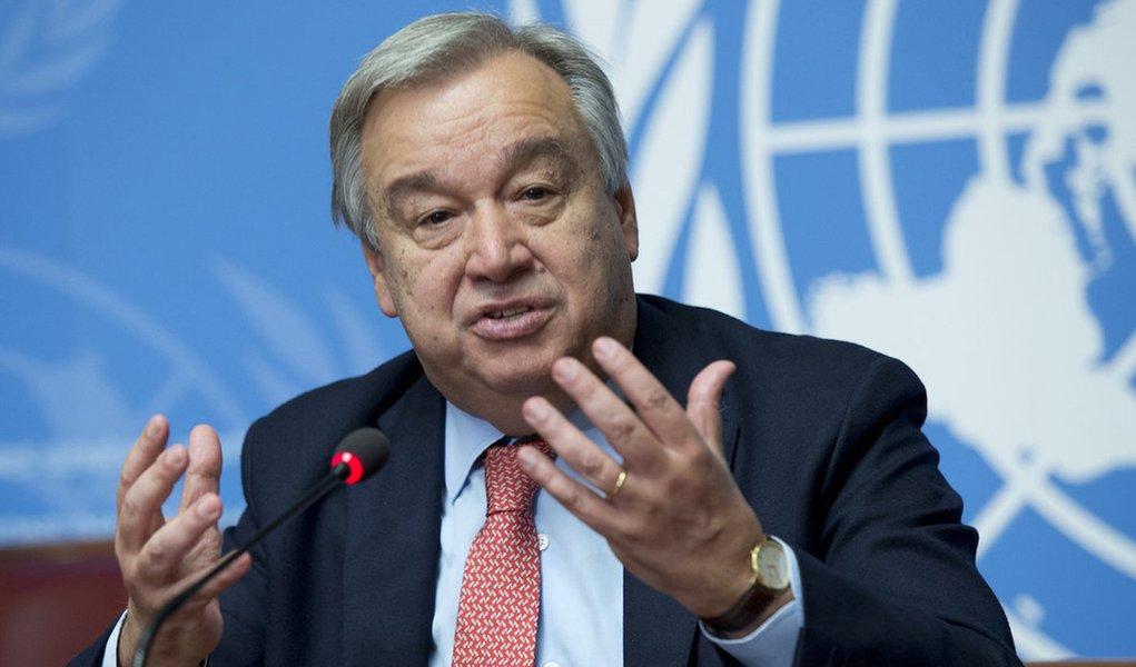 Guterres alerta líderes para ordem mundial cada vez mais caótica