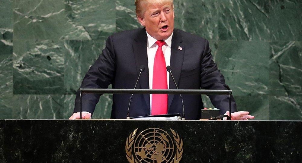 Na ONU, Trump ataca 'ideologia da globalização'