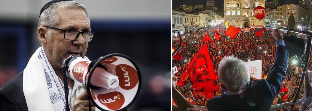 Rabino Jayme Fucs: muitos judeus apoiam Lula e são contra sua prisão