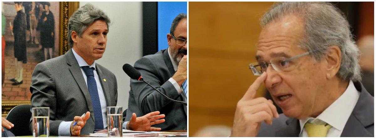 Teixeira ironiza Guedes: o combustível do Posto Ipiranga é adulterado