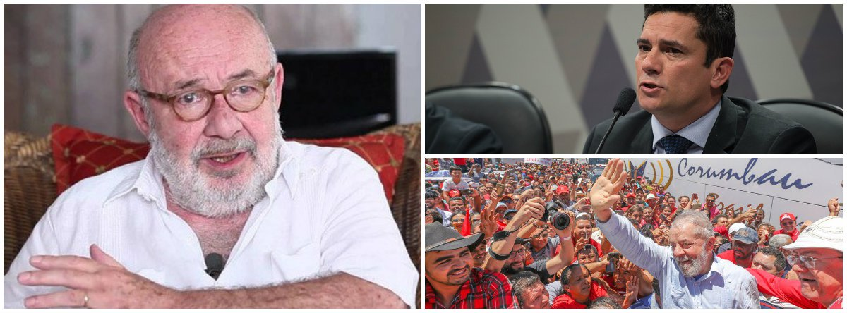 Kotscho: e agora, Moro? Mesmo preso, Lula já é o grande vencedor desta eleição
