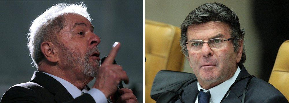 Fux afronta Lewandowski e veta entrevistas de Lula