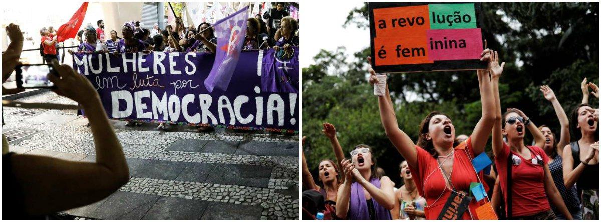 Eleitorado feminino trava crescimento de Bolsonaro com campanha #EleNão