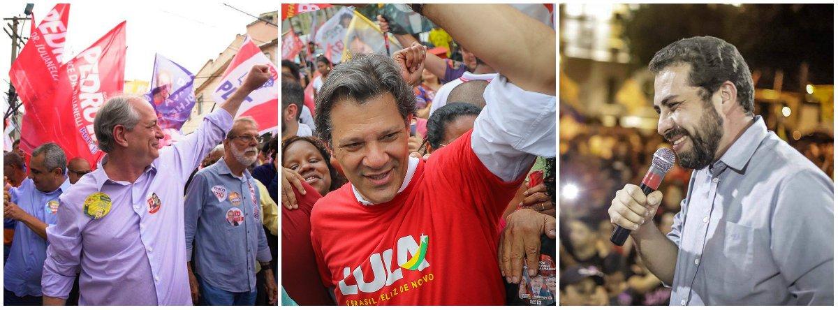 Manifesto pede união das forças democráticas e progressistas para o segundo turno