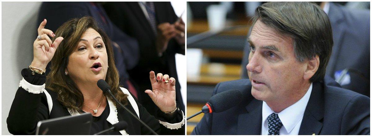 Kátia sobre Bolsonaro: voltaremos ao apedrejamento moral em praça pública?