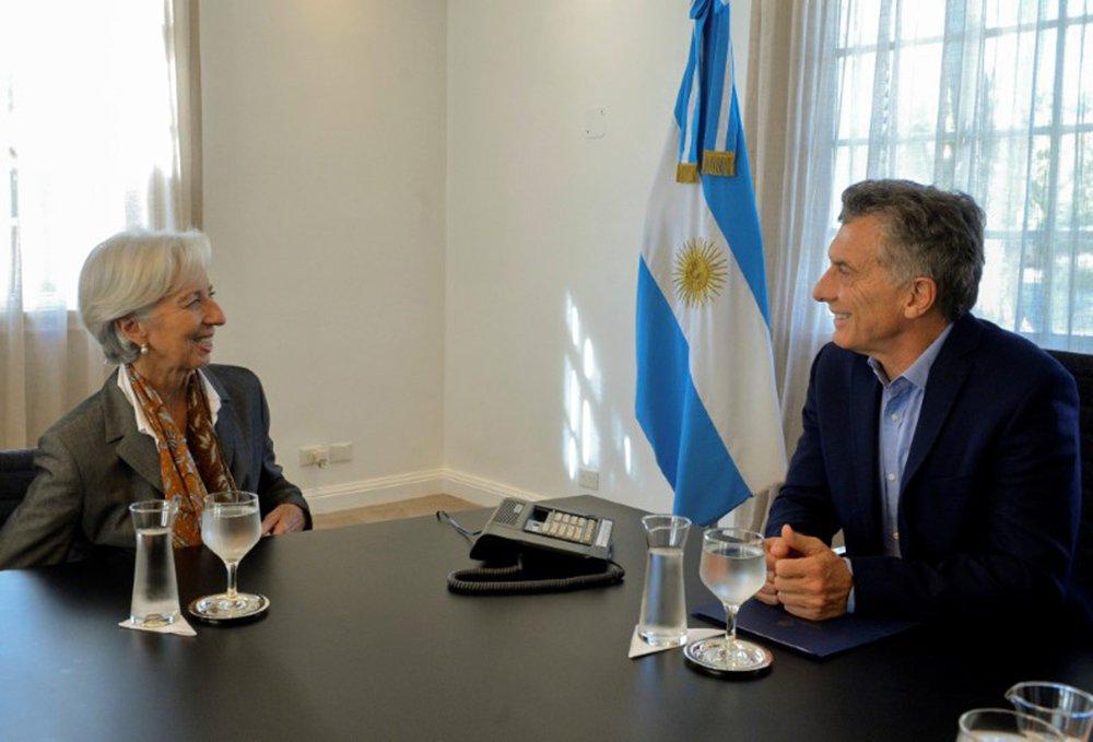 Com a Argentina em crise, Macri diz que 'está vindo mais apoio do FMI'