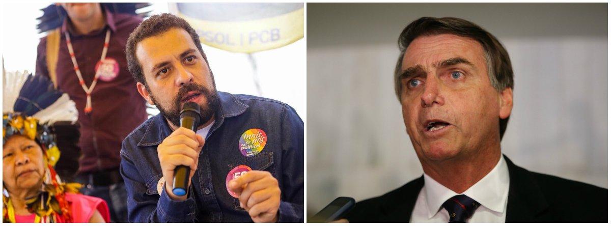 Boulos: assim como Temer, Bolsonaro quer acabar com aposentadorias