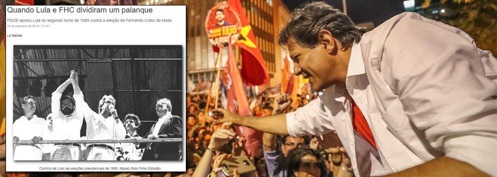 Ao PSDB, só resta se ajoelhar à democracia