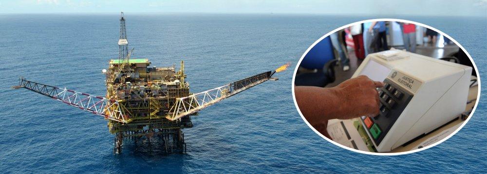 Petroleiras tentam garantir pré-sal antes das eleições