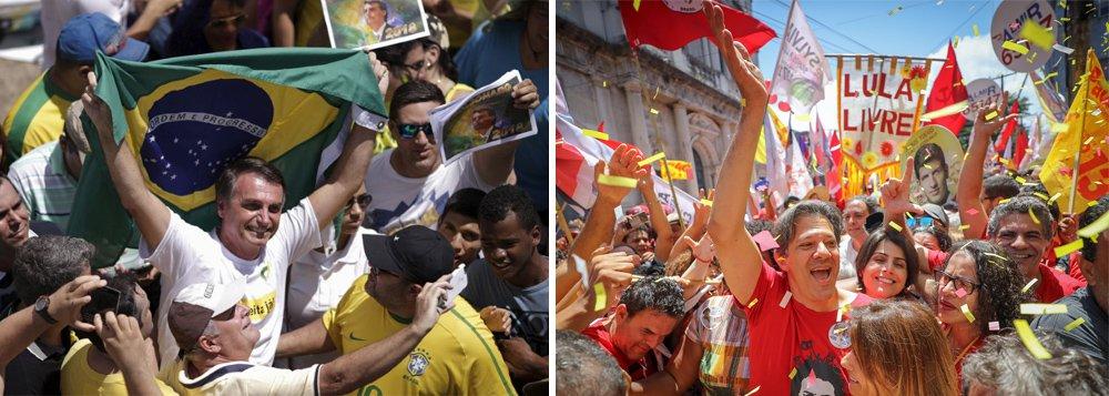 Bolsonaro, Haddad e a lógica das eleições