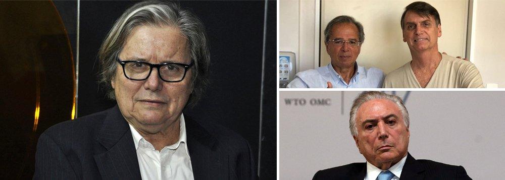 PML: Bolsonaro é um soldado da política econômica de Temer