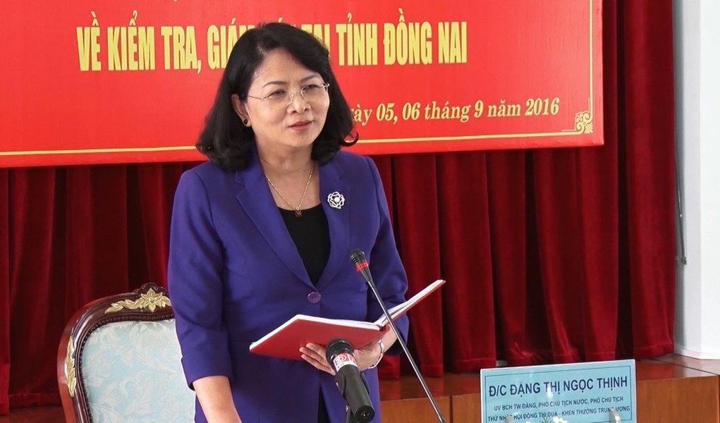 Vietnã nomeia sua primeira presidente da República