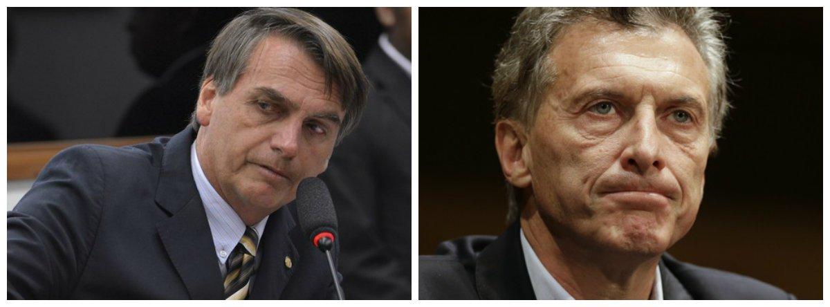 A aventura política de Bolsonaro & Macri