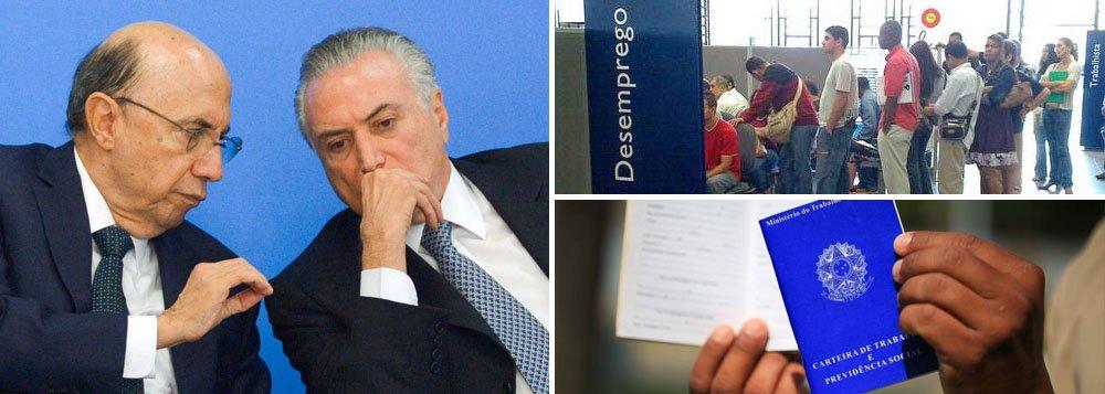 Efeitos deletérios da política de Temer e Meirelles continuam no horizonte do brasileiro