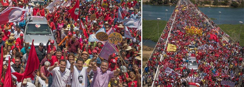 Haddad às margens do São Francisco: 'Brasil precisa de propostas e  paz'