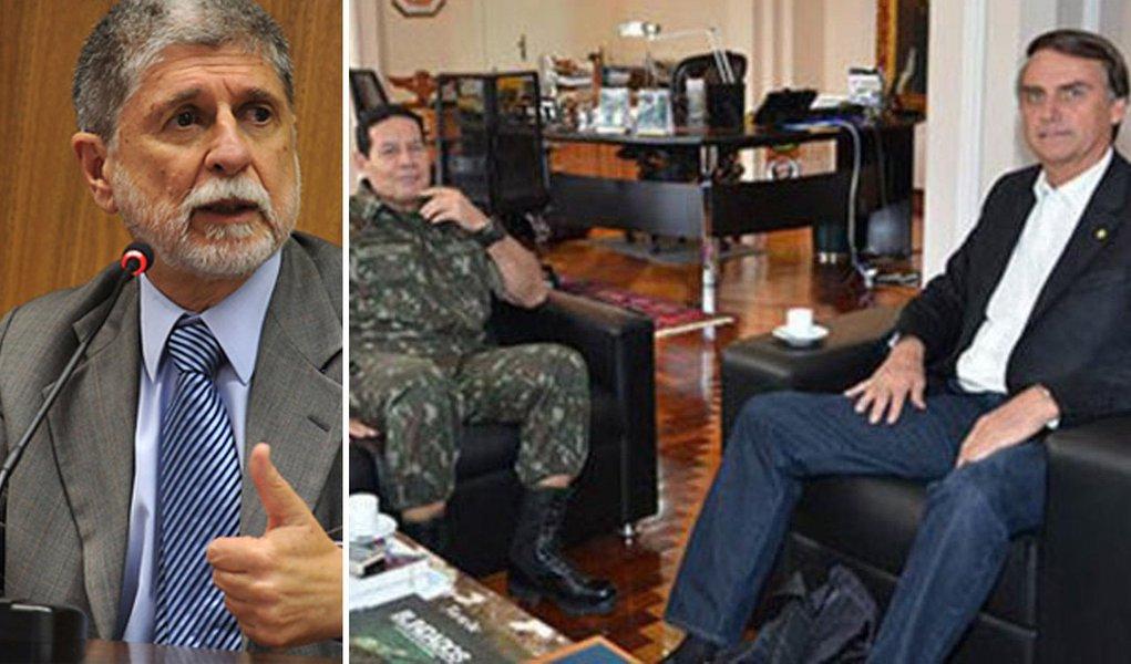 Amorim: Bolsonaro e Mourão são vozes minoritárias no Exército
