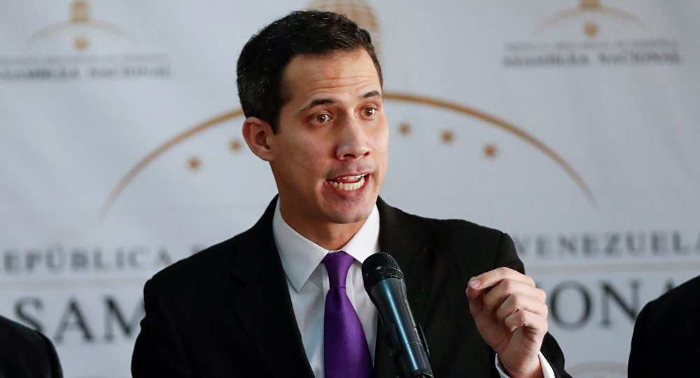 EUA anunciam apoio ao governo paralelo da Venezuela